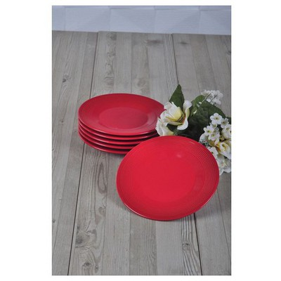Keramika Helezon Tatlı 17 Cm Kırmızı Bayrak 506 Tabak