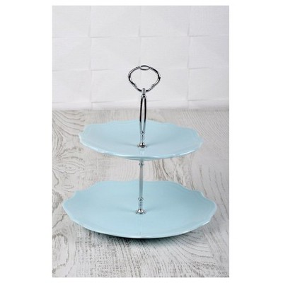 Keramika Set Meyvalık Romeo 2 Katlı Acık Turkuaz 424 A Küçük Mutfak Gereçleri
