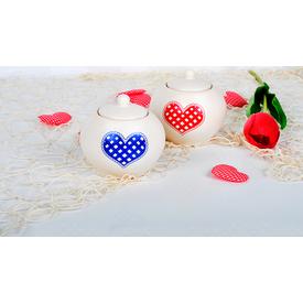 Keramika Set Sekerlık Julıet 4 Parca 021 Potıkare A Yemek Takımı