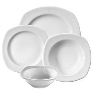 Kütahya Porselen Çisil 24 Parça Yemek Seti Tabak