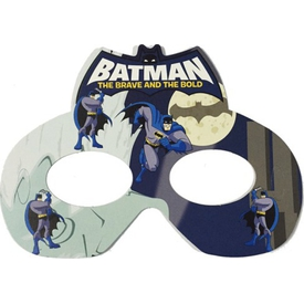 Parti Paketi Batman Maske 6'lı Parti Maskesi
