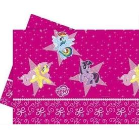 Parti Paketi My Little Pony Partisi Plastik Masa Örtüsü Parti Masa Örtüsü