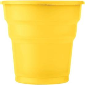 Parti Paketi Sarı Plastik Bardak 8'li Parti Bardağı