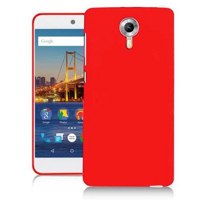 Microsonic General Mobile Gm5 Plus Kılıf Glossy Soft Kırmızı Cep Telefonu Kılıfı