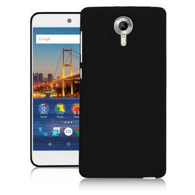 Microsonic General Mobile Gm5 Plus Kılıf Glossy Soft Siyah Cep Telefonu Kılıfı