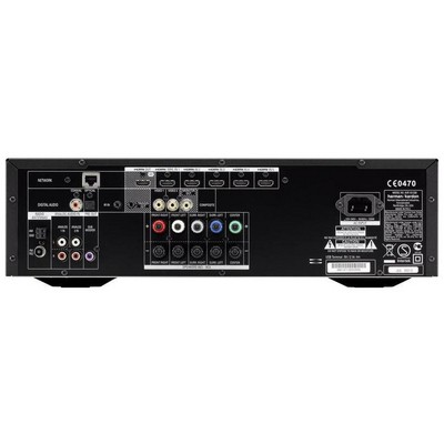 Harman Kardon AVR161S/230, Audio Video Alıcısı, Siyah Amplifikatör
