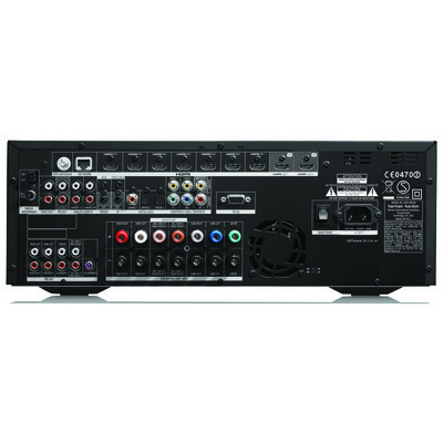 Harman Kardon AVR370/230 Audio Video Alıcısı,Siyah Ev Sinema Sistemi