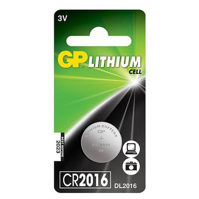 GP Düğme 0 3V Li CR2016