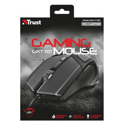 Trust GXT 101 Kablolu Gaming Mouse (21044)