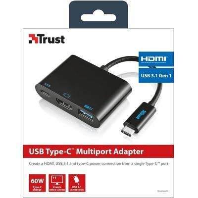 Trust USB-C MultiPort Dönüştürücü - TRU21260