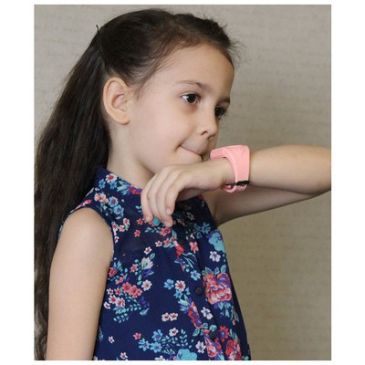 Wiky Watch Pembe Akıllı Çocuk Telefonu Giyilebilir Teknoloji
