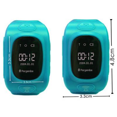 Wiky Watch Mavi Akıllı Çocuk Telefonu Giyilebilir Teknoloji