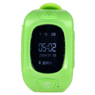 Wiky Watch Yeşil Akıllı Çocuk Telefonu Giyilebilir Teknoloji