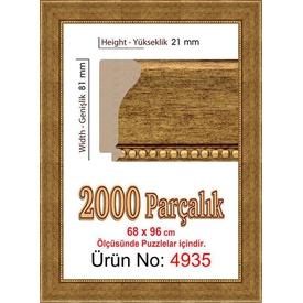 Educa Heidi 2000 Parçalık  Çerçevesi 96x68 Cm 4935 Puzzle