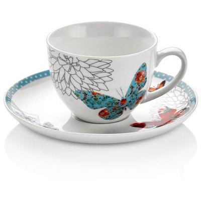 Neva N590 Blue Butterfly 12 Parça Kahve Seti Çay Seti