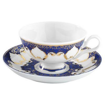 Arte Bianco Kütahya Porselen Armin Kahve Takımı Lacivert Çay Seti