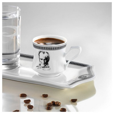 Arte Bianco Destan Tepsili Kahve Seti Çay Seti