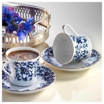 Arte Bianco Mira Kahve Fincan Takımı Çay Seti