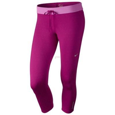 Nike 27809 588671-513 Printed Relay Crop Tayt 588671-513