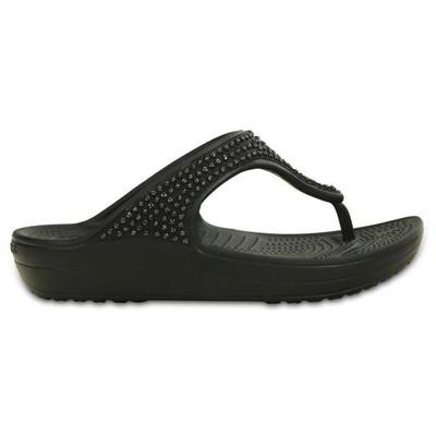 Crocs 45104 P025471-b14 Sloane Diamante Flip Terlik P025471-b14