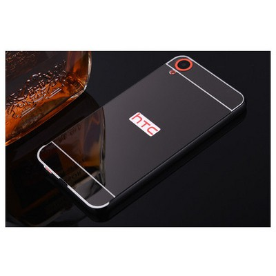 Microsonic Htc Desire 820 Kılıf Luxury Mirror Siyah Cep Telefonu Kılıfı
