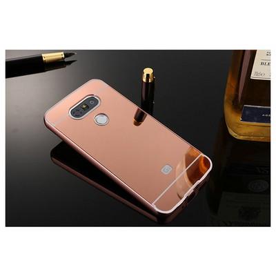 Microsonic Lg G5 Kılıf Luxury Mirror Rose Gold Cep Telefonu Kılıfı