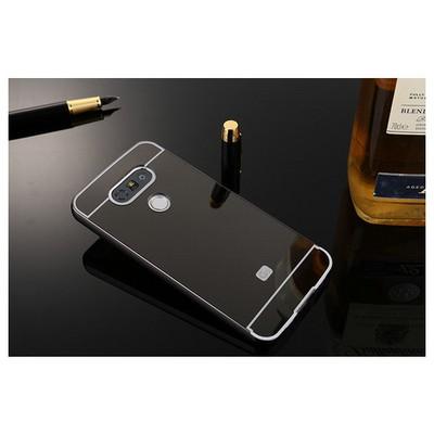 Microsonic Lg G5 Kılıf Luxury Mirror Siyah Cep Telefonu Kılıfı