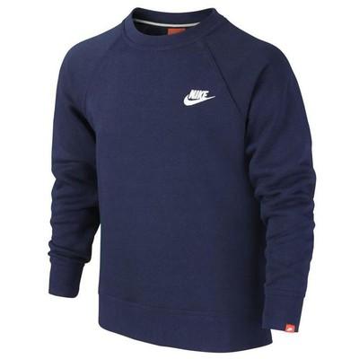Nike 36805 749932-451 Ya76 Frc Bf Crew Yth Sweat 749932-451