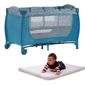 Hattrick Baby Rpp-09 Sade Oyun Parkı 60x120 Kampanya Mavi Park Yatak