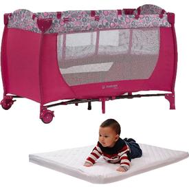 Hattrick Baby Rpp-09 Sade Oyun Parkı 60x120 Kampanya Pembe Park Yatak