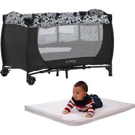 Hattrick Baby Rpp-09 Sade Oyun Parkı 60x120 Kampanya Siyah Park Yatak