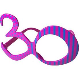 Parti Paketi 30 Yaş Pop Parti Gözlük Parti Gözlüğü