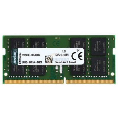 Kingston 8GB Notebook Bellek - KVR21S15D8/8