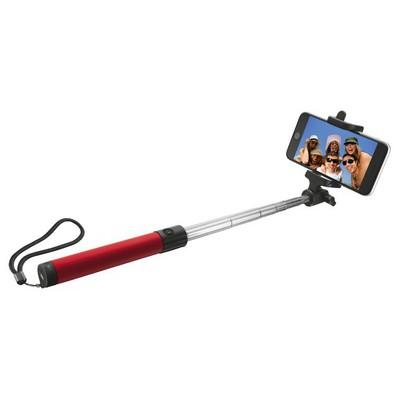 Trust Urban 21037 Katlanılabilir Kablosuz Bluetooth Selfie Çubuğu-kırmızı Cep Telefonu Aksesuarı