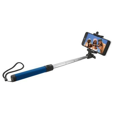Trust  Urban 21036 Katlanılabilir Kablosuz Bluetooth Selfie Çubuğu-Mavi