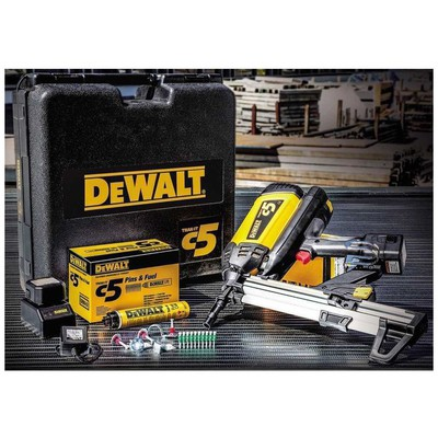 Dewalt Ddf5110500 1,5 Ah Ni-h Gazlı Çivi Çakma Makinası Hava Tabancası