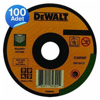 Dewalt Dwa4521fa 100 Adet 115x2,5mm Metal Kesme Diski Düz Makine Aksesuarı