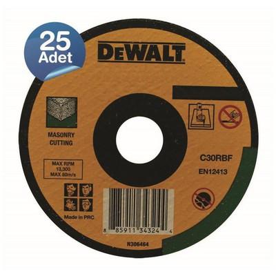 Dewalt Dwa4524cfa 25 Adet 180x2,5mm Metal Taşlama Diski Bombeli Makine Aksesuarı
