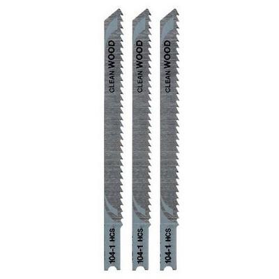 Black & Decker X21013 3 Parça U Tipi Ahşap Dekupaj Bıçak Seti Makine Aksesuarı