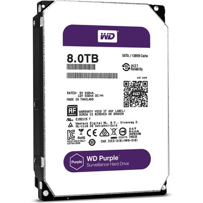 WD Purple 8TB Surveillance Disk - WD80PUZX