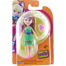 Polly Pocket Bebekler Lila Model 6 Kız Çocuk Oyuncakları