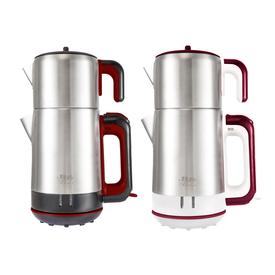 Blue House Mola Elektrikli Çay Makinası Kırmızı Çay Makinesi