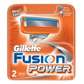 Gillette Fusion Power Yedek Tıraş Bıçağı 2'li Erkek Tıraş Bıçağı