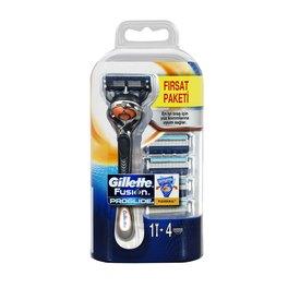 Gillette Fusion ProGlide FlexBall Tıraş Makinesi + 4'lü Tıraş Bıçağı Erkek Tıraş Bıçağı