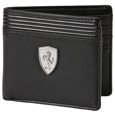 Puma 36249 73496-01 Ferrari Ls Wallet M Black Cüzdan 073496-01