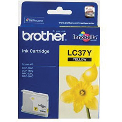 Brother LC37Y Sarı Kartuş
