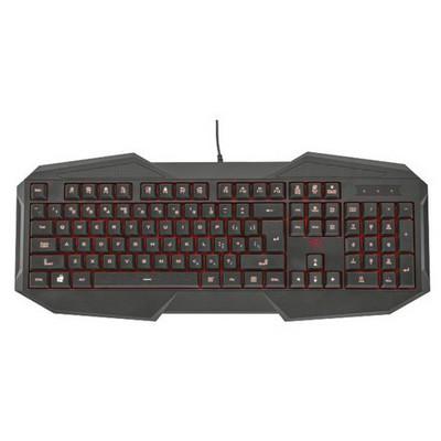Trust GXT-830 Oyuncu Klavyesi 21234 Siyah