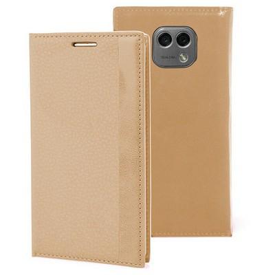 Microsonic Lg X Cam Kılıf Gizli Mıknatıslı Delux Gold Cep Telefonu Kılıfı