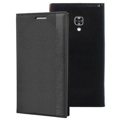 Microsonic Lg X Screen Kılıf Gizli Mıknatıslı Delux Siyah Cep Telefonu Kılıfı
