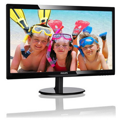 "Philips 2246V5LHAB/01-24""W- LED/HDMI/SPK Monitor Monitör"